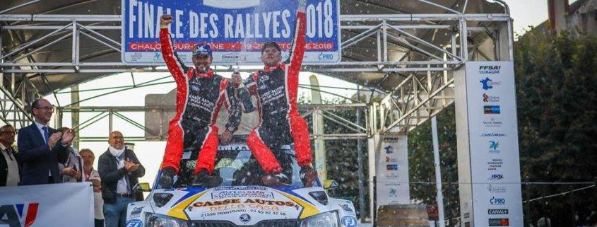 Etienne Bouhot vince la Coppa di Francia Rally