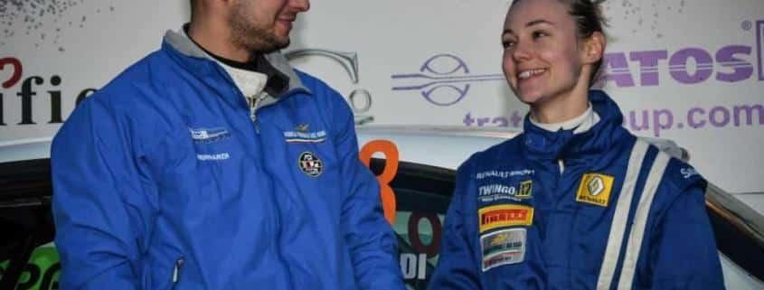 Elena e Giorgio due cugini vincenti nei rally