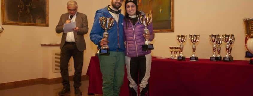 Dario Bertolacci e Chiara Lombardi sono i vincitori del Premio Rally Aci Lucca