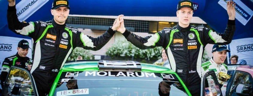 Eerik Pietarinen disputerà il WRC 2