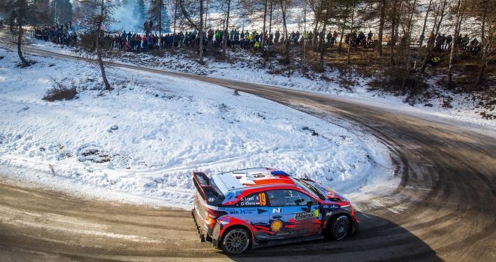 Sebastien Loeb e Daniel Elena al Rally MonteCarlo