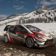 La Toyota Yaris WRC Plus alla scorsa edizione del Rally MonteCarlo