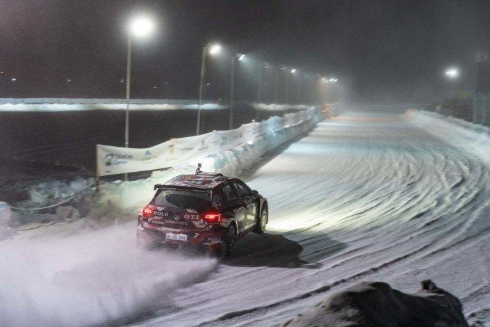 La gara di Romain Dumas con la Volkswagen Polo GTI R5 è stata eccezionale