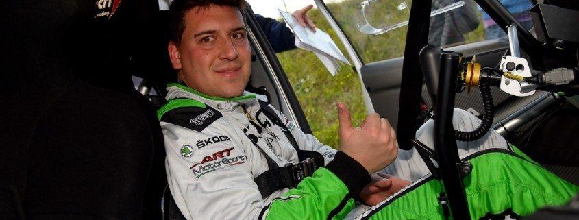 Luca Artino è l'ospite della prima puntata di Radio Rally la WebTV di RS e oltre