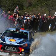 Thierry Neuville al Rally Argentina