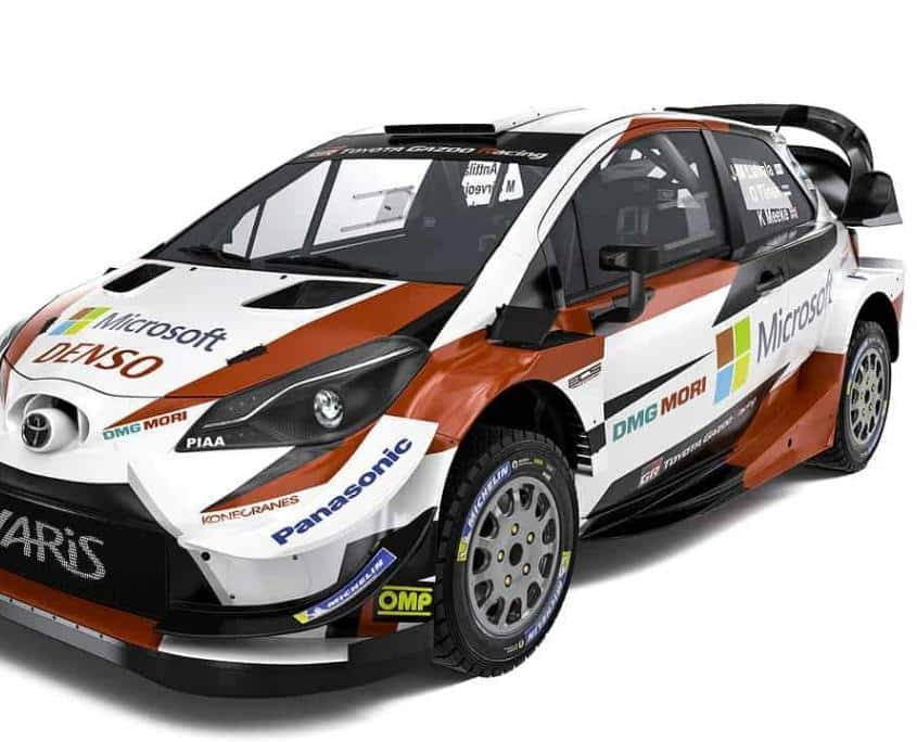 La Toyota Yaris WRC Plus 2019