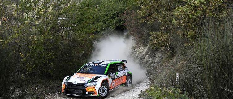 Francesco Fanari al Rally Val d'Orcia