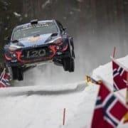 Hyundai Motorsport al Rally Svezia dello scorso anno
