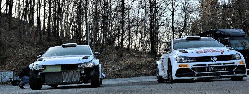 Il test delle Volkswagen Polo R5
