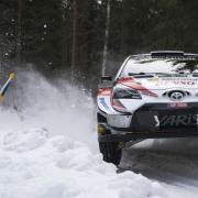 Jari-Matti Latvala con la Toyota Yaris WRC Plus