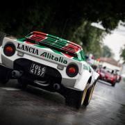 La Lancia Stratos Gruppo 4 in livrea Alitalia