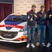 La presentazione dei programmi sportivi Peugeot