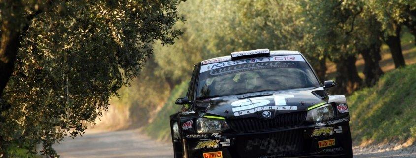Rudy Michelini e Michele Perna sulla Skoda Fabia R5 Movisport