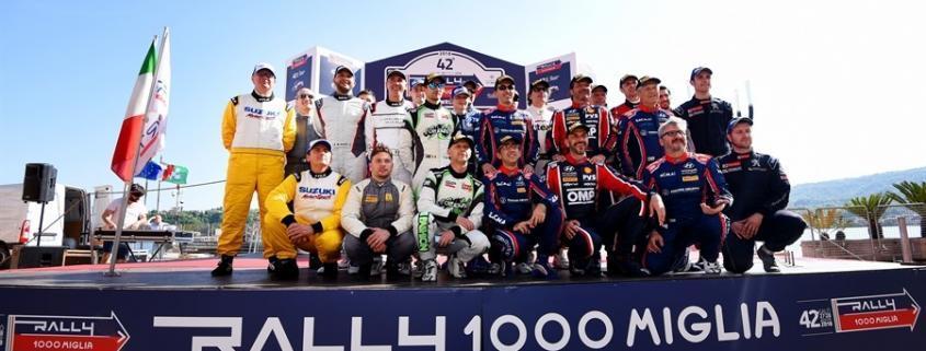 Un'immagine della scorsa edizione del Rally 1000 Miglia