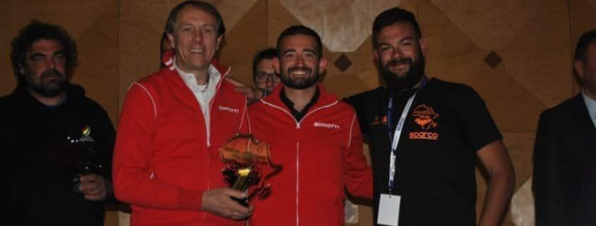Carlo Miniotti e Francesco Delmastro hanno vinto il Sahara Racing Cup