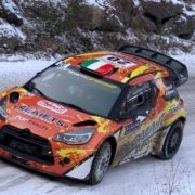 La Citroen DS3 WRC di Simone e Mauro Miele