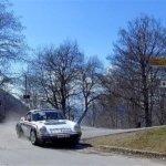 Lucio Da Zanche e Daniele De Luis sulle PS del Rally Sanremo Storico