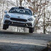 Pronta per il Mondiale Rally l'Abarth 124 Rally Evo 2019