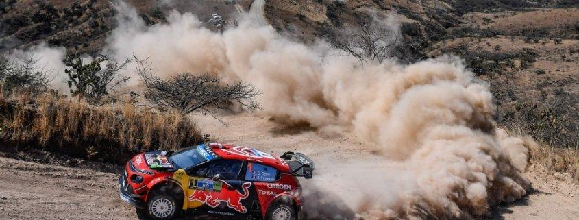 Sebastien Ogier in testa al Mexico Rally 2019
