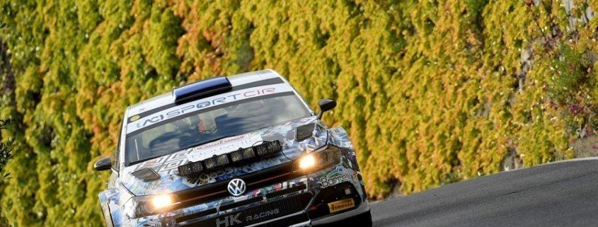 Andrea Crugnola con la Volkswagen Polo R5