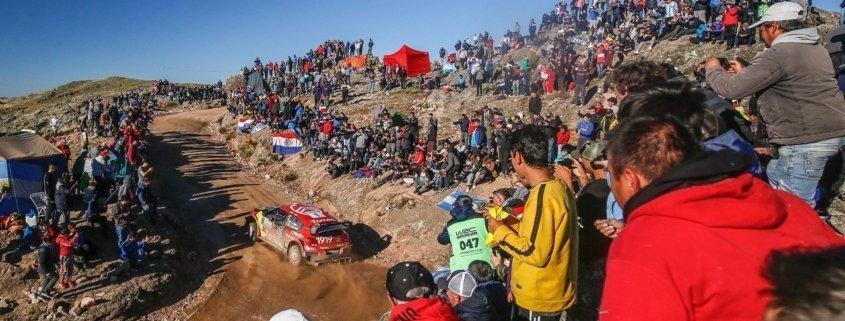 La Citroen C3 WRC di Sebastien Ogier al Rally Argentina 2019