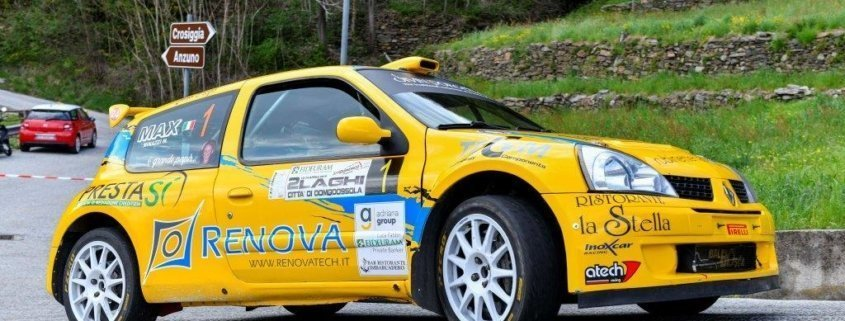 Davide Caffoni vince il Rally 2 Laghi