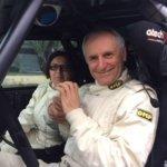 Elio Becchetti e Maura Saetti con la Peugeot 106