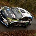 Giandomenico Basso sulla Skoda Fabia al Rally Sanremo