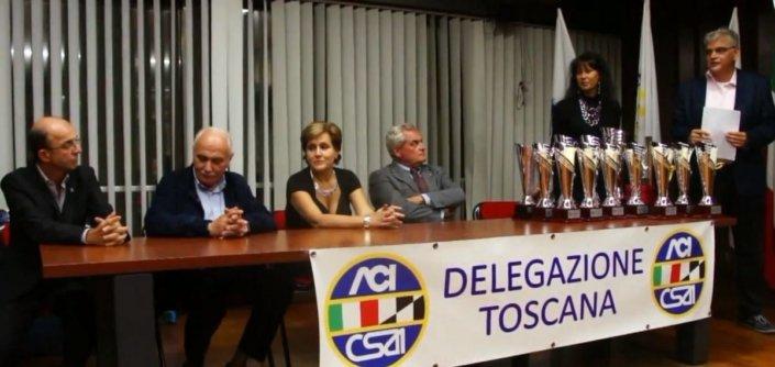 Premiazione delegazione Toscana con Roberto Misseri