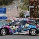 Simone Miele sulla Citroen DS3 WRC