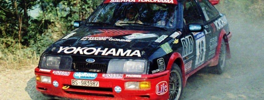 Una delle vetture del Veneto Rally Club