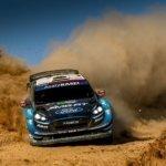 Elfyn Evans e tutta la squadra si preparano al Rally del Portogallo