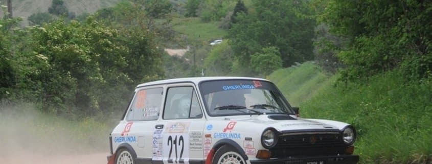 La A112 di Giorgio Sisani e Cristian Pollini al Rally Storico del Medio Adriatico