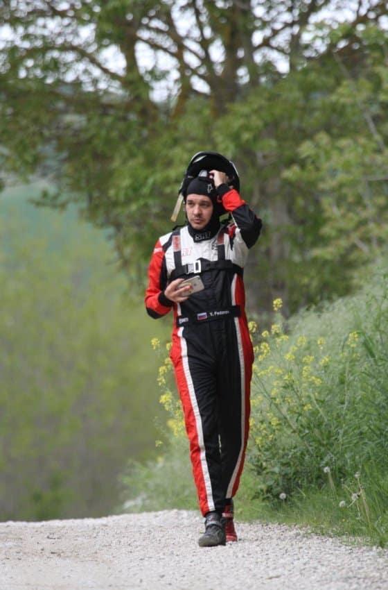 Nikolay Gryazin al Rally Adriatico