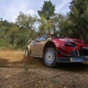 Sebastien Ogier in Sardegna nella foto di Francesca Cocco