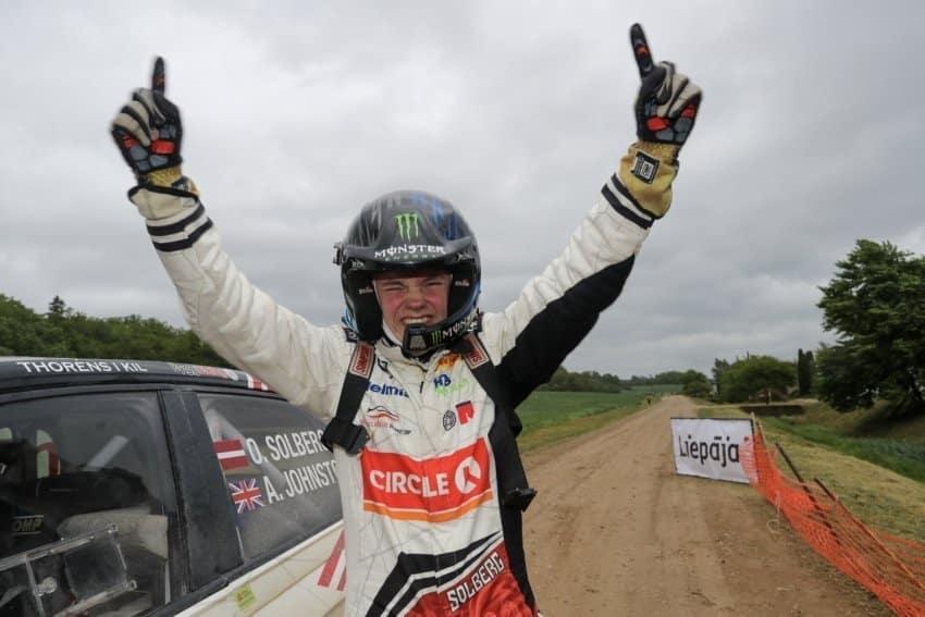 Oliver Solberg è il più giovane vincitore di un rally ERC (1)