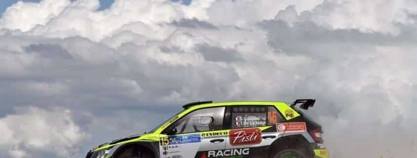 Stephane Consani, il più disinvolto al Rally Adriatico