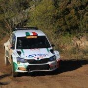Test di Fabio Andolfi pre Rally Italia Sardegna 2019