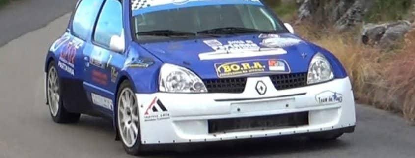 Carmelo Galipò in testa al Trofeo Rally Sicilia