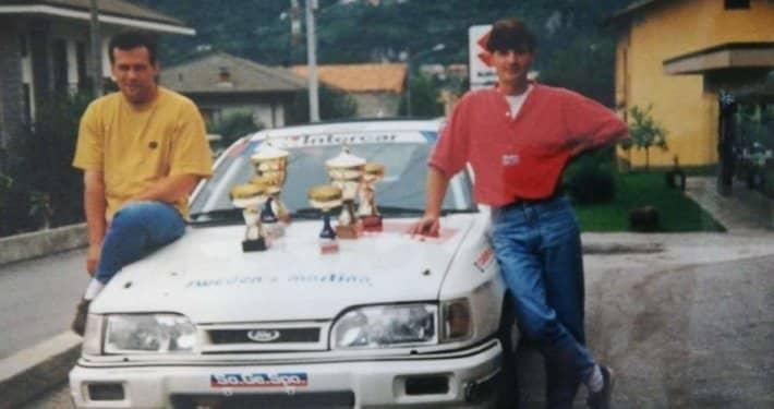 Daniele Nicolini al Rally Valli Ossolane