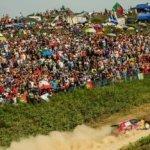 Sebastien Ogier impegnato al Rally del Portogallo