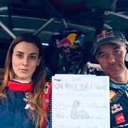 Sebastien Loeb e Laurene Godey dedicano la vittoria alla Regione dove si disputa il rally