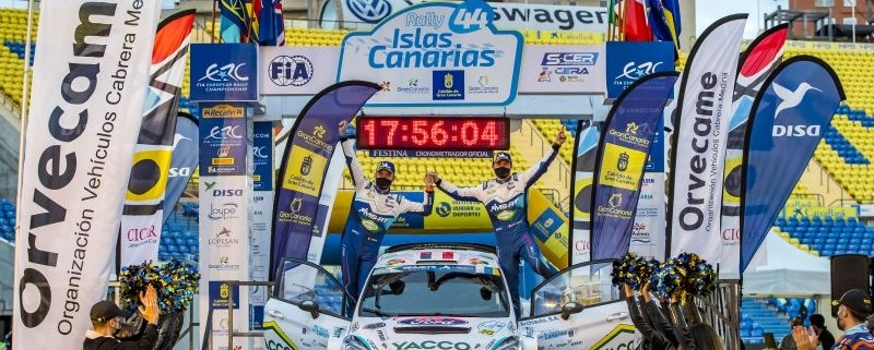 ERC, Canarie: Fourmaux vince, Lukyanuk padrone d'Europa