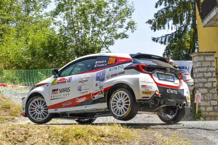 Alessandro Ciardi, Rally di Roma 2021