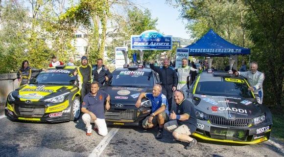 Alex Raschi, Rally Bianco-Azzurro 2021
