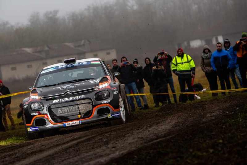 Alexey Lukyanuk in testa al Rally di Ungheria
