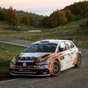 Andrea Crugnola impegnato al Rally Due Valli