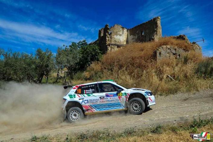 Andrea Mazzocchi, Rally di San Marino 2021