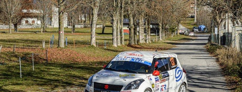 Colpo di scena: a Scalzotto la Suzuki Rally Cup