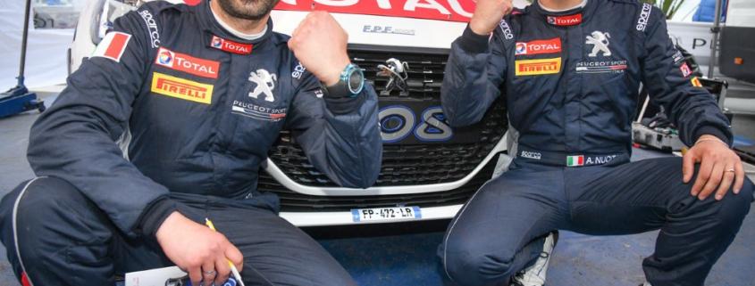 Andrea e Giuseppe Nucita, Rally di Sanremo 2021